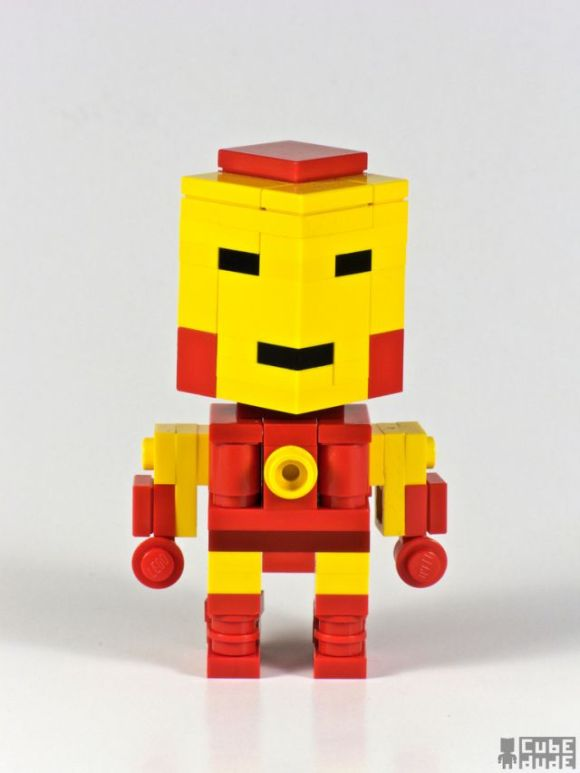 Pop Culture Icons in Lego by Cube Dude