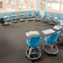 Steelcase Classroom Chairs White Leather Kitchen The Node Desk