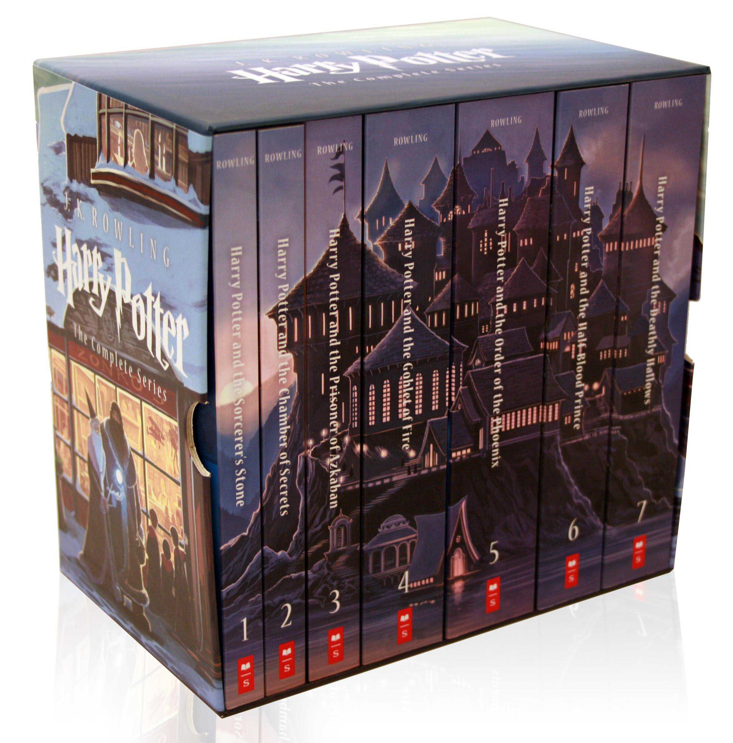 Scholastic To Release Special Edition Boxed Set Of J K