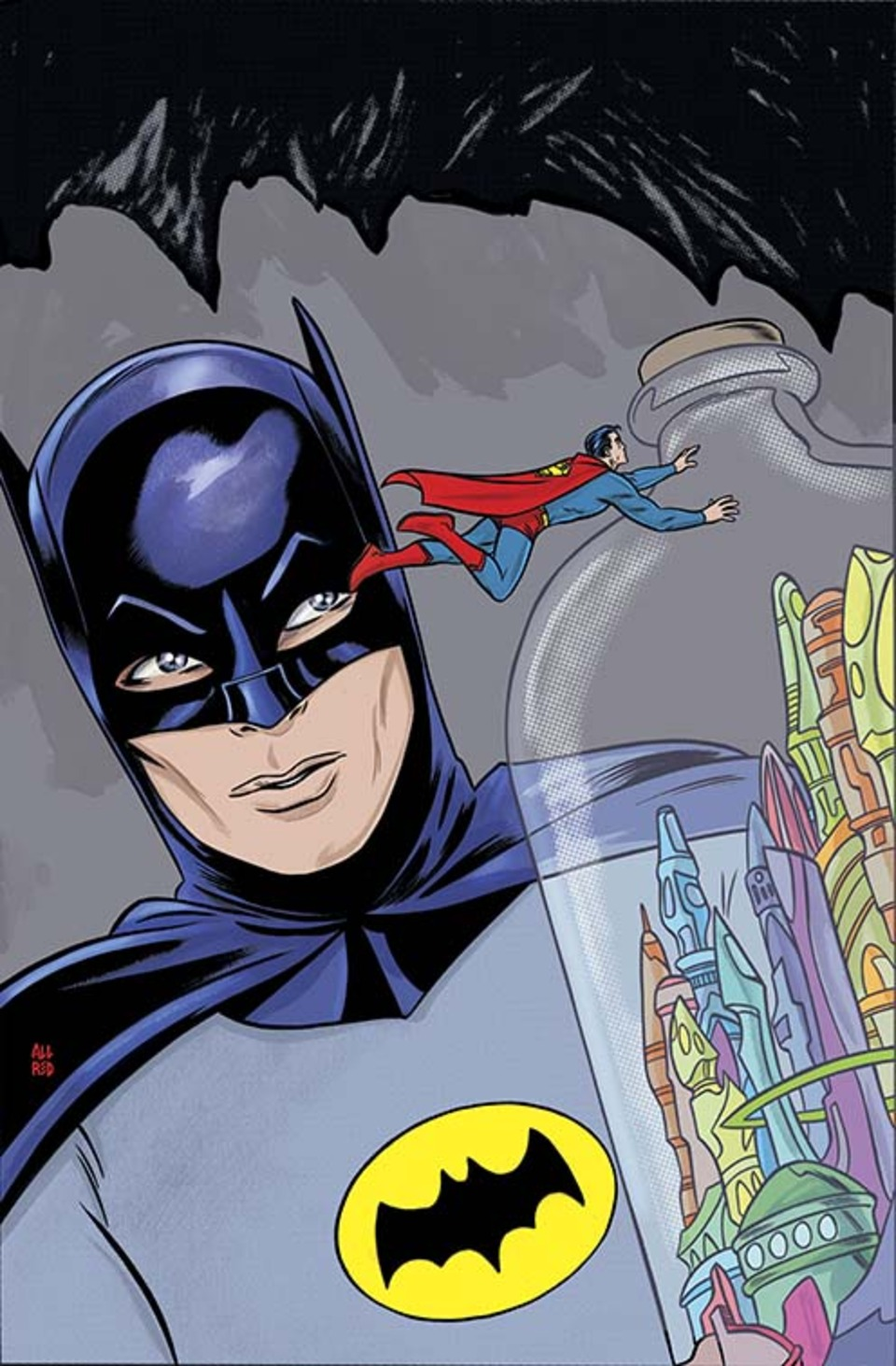 DC Comics Honors Batman 66 In May With Mike Allred Variant Covers