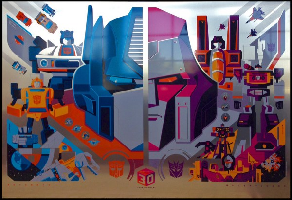 Acid Free Release Transformers 30th Anniversary