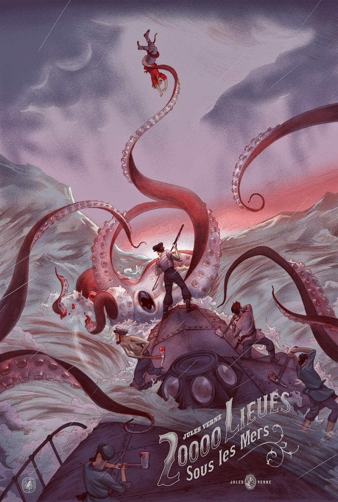 Nautilus Art Prints To Release 20 000 Leagues Under The