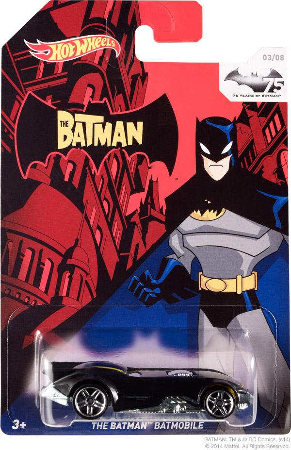 Hot Wheels  Walmart Salute 75 Years of Batman