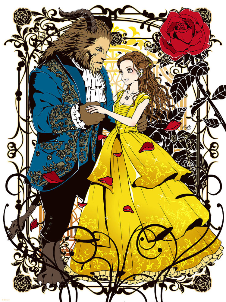 Be Our Guest An Art Tribute To Disneys Beauty And The Beast Is Coming To Gallery Nucleus On