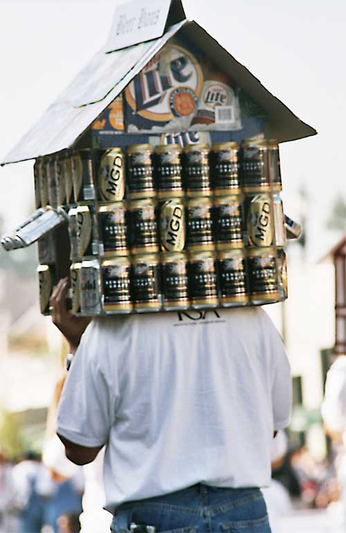 beer-can house costume
