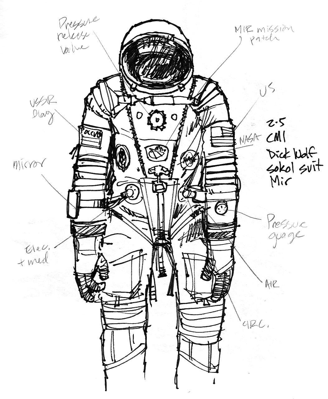 Vintage Astronaut Suit