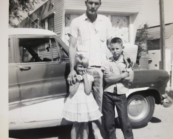 Dad, Carol, Larry