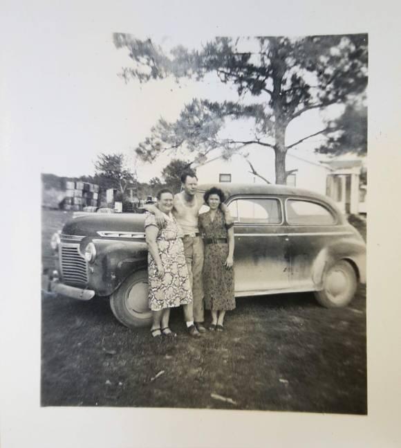 Walter, Phonzie, & Mabel Strickland