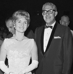 Debbie Reynolds & Harry Karl, Caesars Palace, Nero's Nook, Jan 1967