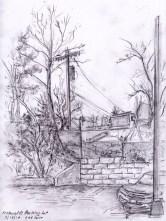 sketchbook macdonald's parking lot adjust