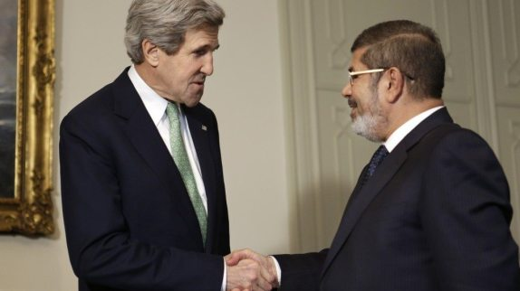 Kerry quietly approves $1.3 million in aid to Egypt. Photo source: http://goo.gl/TPnFA