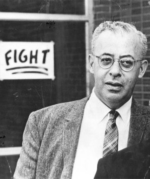 Saul David Alinsky was an American community organizer and writer. He is generally considered to be the founder of modern community organizing. Image Source: http://goo.gl/nj7i0c