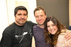Photo of Otmaro Ruiz, Larry Koonse, Catina
