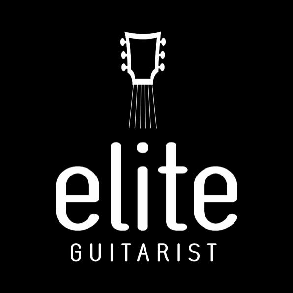 illustrated logo art for Elite Guitarist