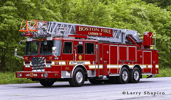 Boston Ladder 17 KME AerialCat Severe Service Predator