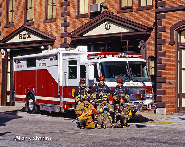 York Fire Department American LaFrance heavy rescue