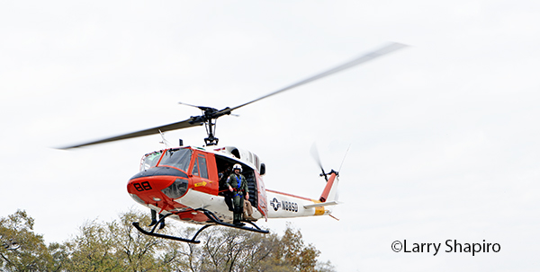 Huey rescue helicopter