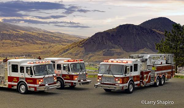 American LaFrance fire trucks