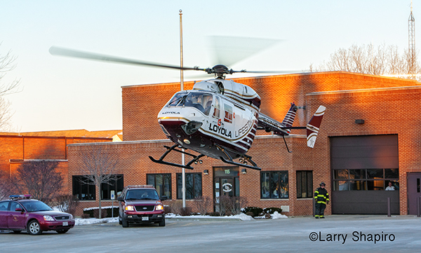 Loyola Lifestar medical helicopter helicopter photos