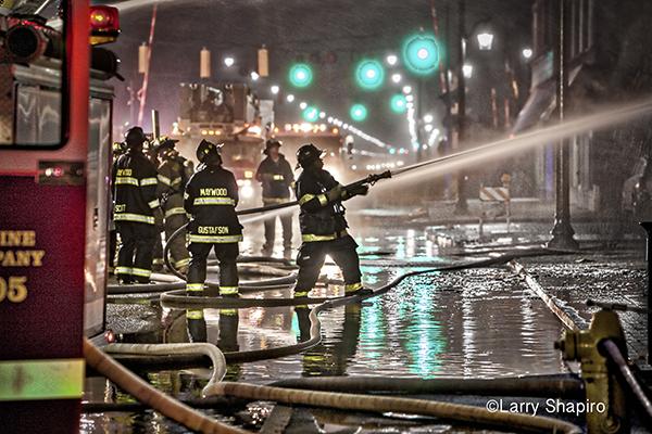 night fire scene edited with Macphun Intensify Pro