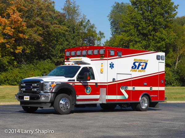 Braun Type I ambulance