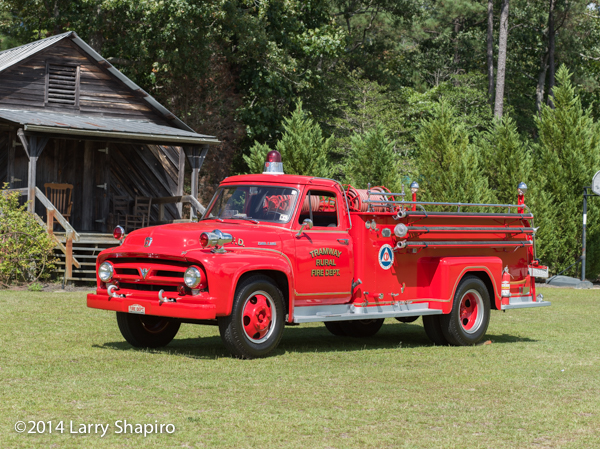 1957 Oren fire engine