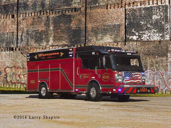 Rosenbauer America Commander rescue pumper