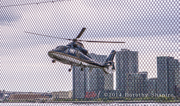 Private helicopter transport in NYC