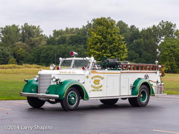 1944 Buffalo fire engine