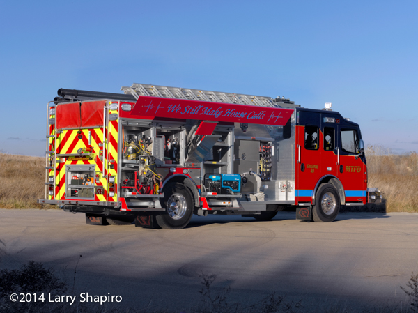 Mission Township FD Rosenbauer Commander