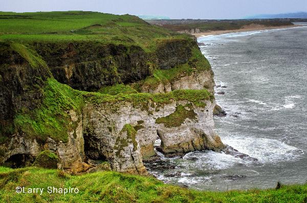 Cliffs on the Northern Coast of Ireland