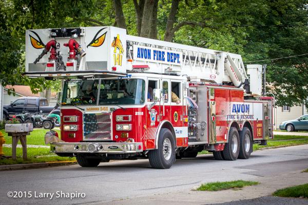 Avon Fire Department fire truck