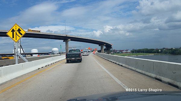 Driving I95 through Baltimore