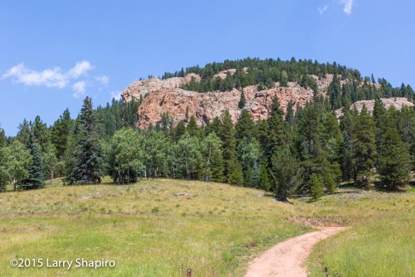 mountains in Staunton State Park