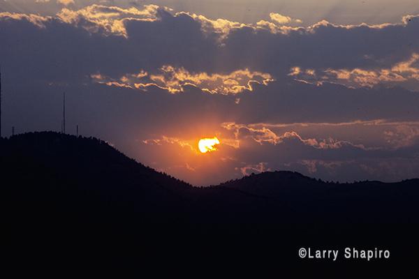 Sunset in Golden, CO