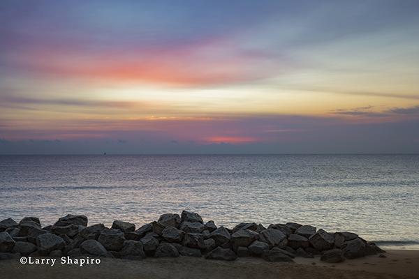 Atlantic Ocean sunrise