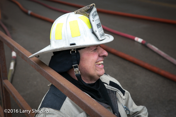 fire chief portrait