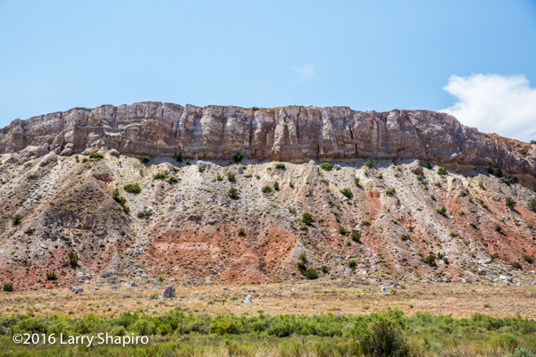 Scenic Highway 550 in New Mexico