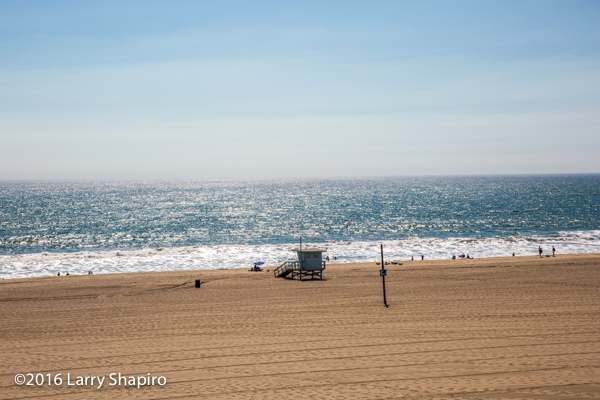 sandy beach in southern California