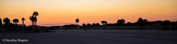 gulf state park sunset