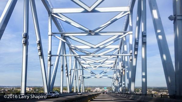 Crossing the Commodore Barry Bridge