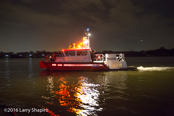 Prince George's County Fire Boat 843