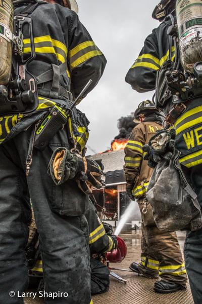 image of Firefighters adjusted using MacPhun #Luminar