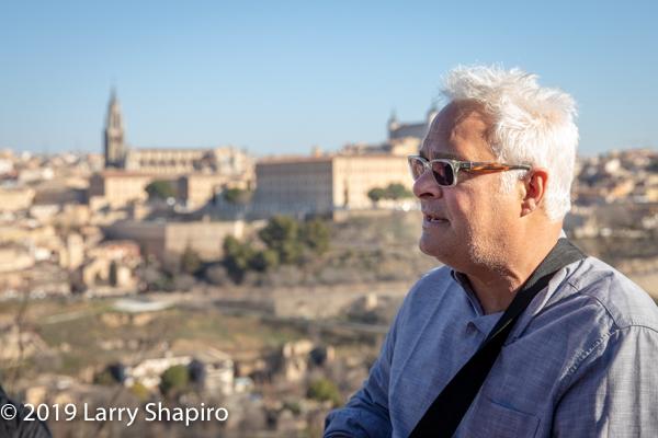 Craid Taubman in Toledo Spain