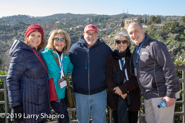 Rabbi Steven Lowenstein and others in Toledo Spain