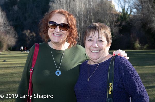 Sharon Kibanov and Marcia Levy