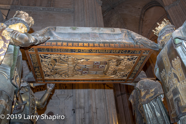 burial site of Christopher Columbus