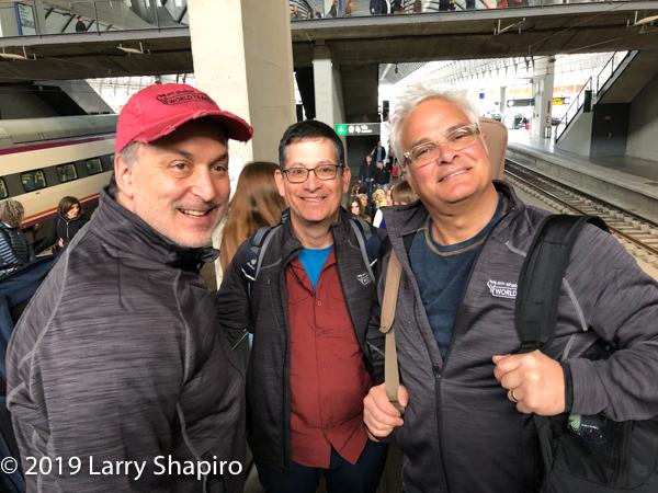 Steven Lowenstein, Mark Hollander, Craig Taubman inon Seville