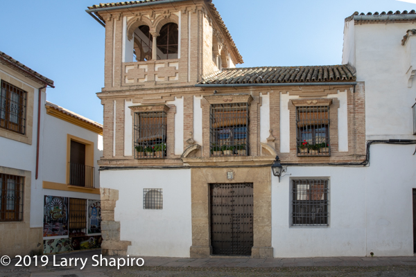 Jewish section of old Cordoba