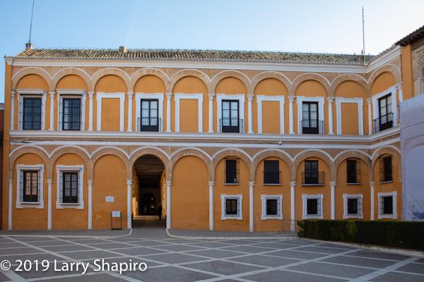 Alcazar Palace in Spain